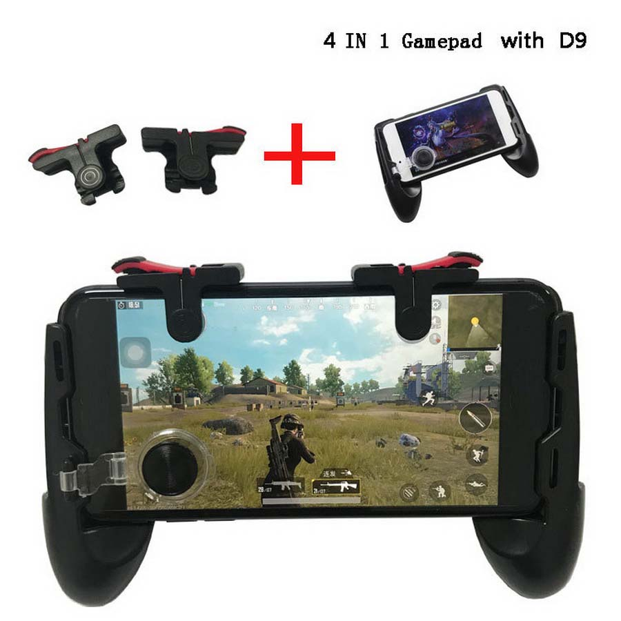 50sets For Pubg Game Gamepad For Mobile Phone Game Controller l1r1 Shooter Trigger Fire Button For