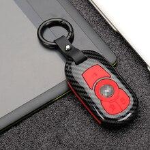 Nóng ABS + Silica Gel Sợi Carbon Xe Từ Xa Phím Ốp Lưng OPEL Astra Buick ENCORE Hình Dung Mới LACROSSE độ Bền Vật Liệu