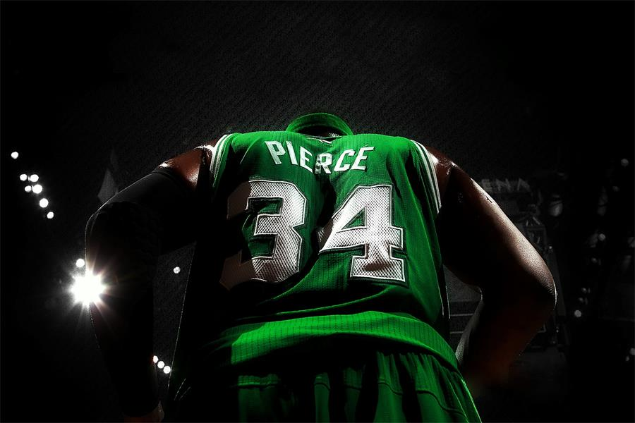 Custom Canvas Art Paul Pierce Poster Paul Pierce Wallpaper NBA Basketball Wall Stickers  ...
