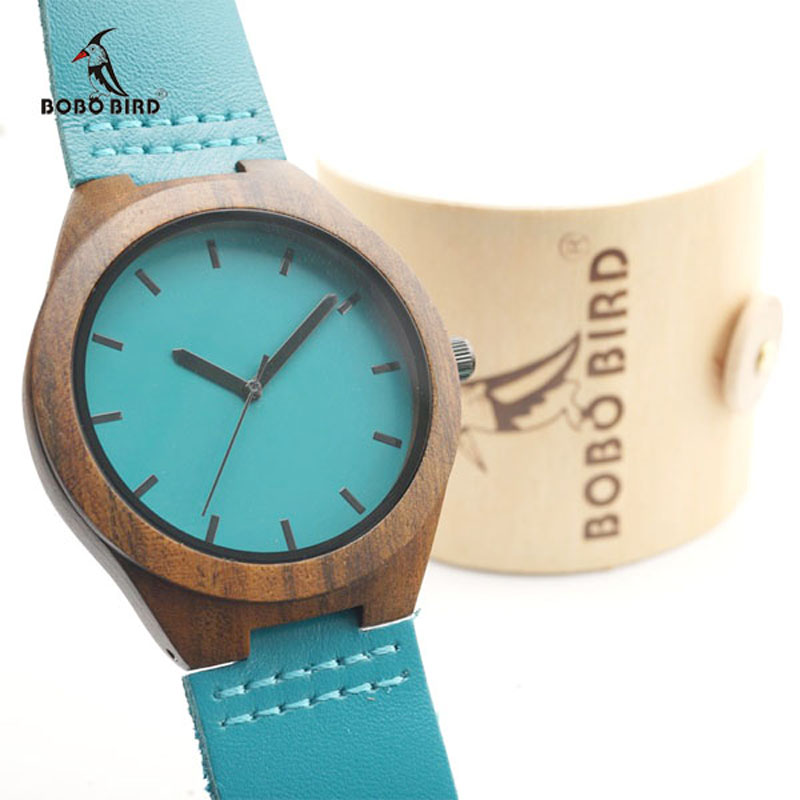 wood watches with wood gift box (1)