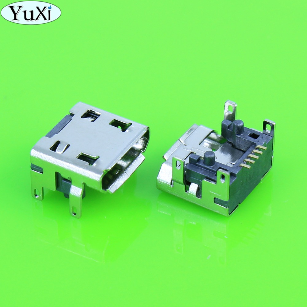 YuXi 5pcs/lot Micro Usb Charge Charging Connector Plug Dock Socket Port Jack Replacement Repair For JBL FLIP 3 Bluetooth Speaker