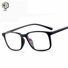Fashion Square Men Optics Glasses Frame Women Solid Color Transparent Small Spectacles Frames Prescription Eyeglasses