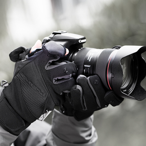 Image 2 - PGYTECH Gloves photography gloves Windproof outdoor mountaineering Ski Riding Flip Waterproof Touch Screen Multifunction Gloves