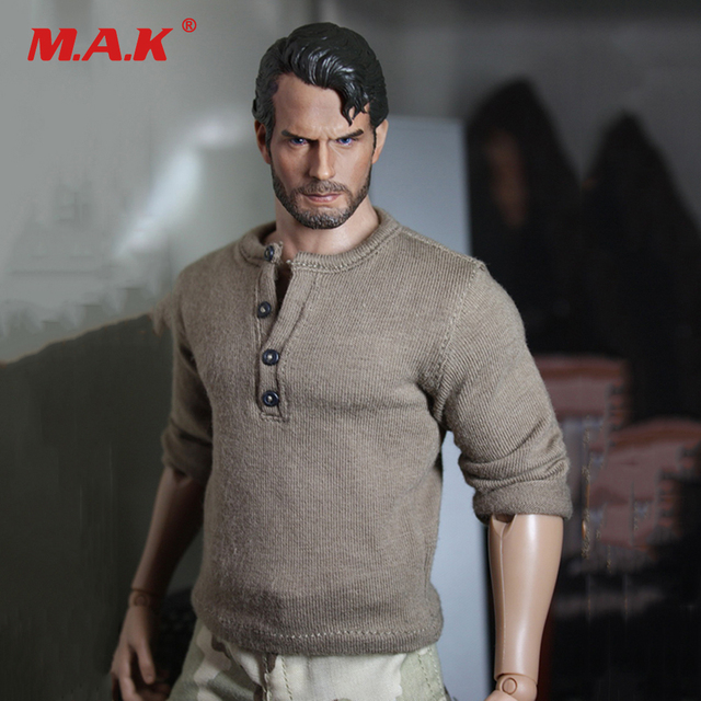 1:6 Scale Man Head Sculpt Henry Carvill with Beard Wage Earners Decadent Edition Headsculpt Model Toys for 12'' Male Figure