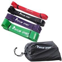 Doprava zdarma Sada 4 odporových pásů Loop Fitness Crossfit Power Lifting Vytažení gumové gumové pásky