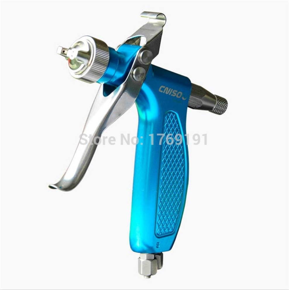 Germany Quality Small Nozzle Spray Gun With Fine Atomizing Fluid 0.2/0.3/0.5/0.8mm For Mold Release Agent And Activator Spraying
