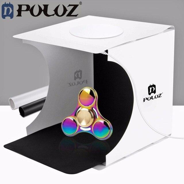 PULUZ 20*20cm 8 Mini Foldable Camera Photo Studio Photography Light Tent kit box & PULUZ 20*20cm 8