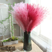 10pcs/lot Romantic fur grass for diy home decoration wedding flower props photography artificial flowers