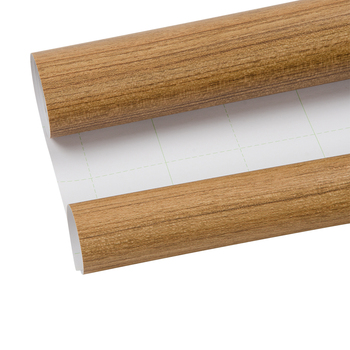 HOHOFILM 1.24x5m Premium Wood Grain Film Fiber Vinyl Wrap Car Sticker Moto Auto Interior PVC Film 48.8''x196.8