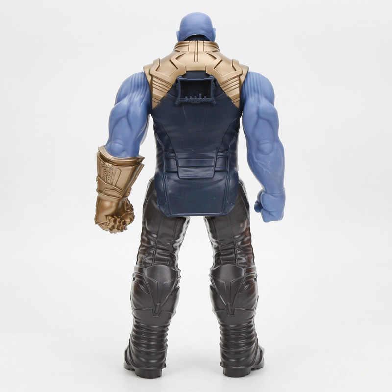 29cm מארוול קפטן נוקמי 4 צעצועי אינפיניטי מלחמת תאנסו פעולה דמויות טיטאן גיבור סדרת איור אסיפה דגם צעצוע