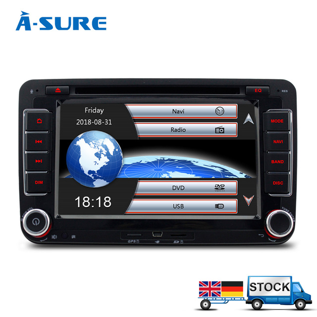 A sure dvd player navigation gps radio for vw passat b6 t5 seat a sure dvd player navigation gps radio for vw passat b6 t5 seat jetta polo fandeluxe Gallery