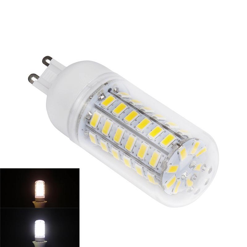10 шт. 12 Вт G9 светодиодные огни кукурузы T 56 SMD 5730 1200 LM Кукуруза, прожектор, лампа светодиодная LED лампа 360 градусов AC 220-240 В ...