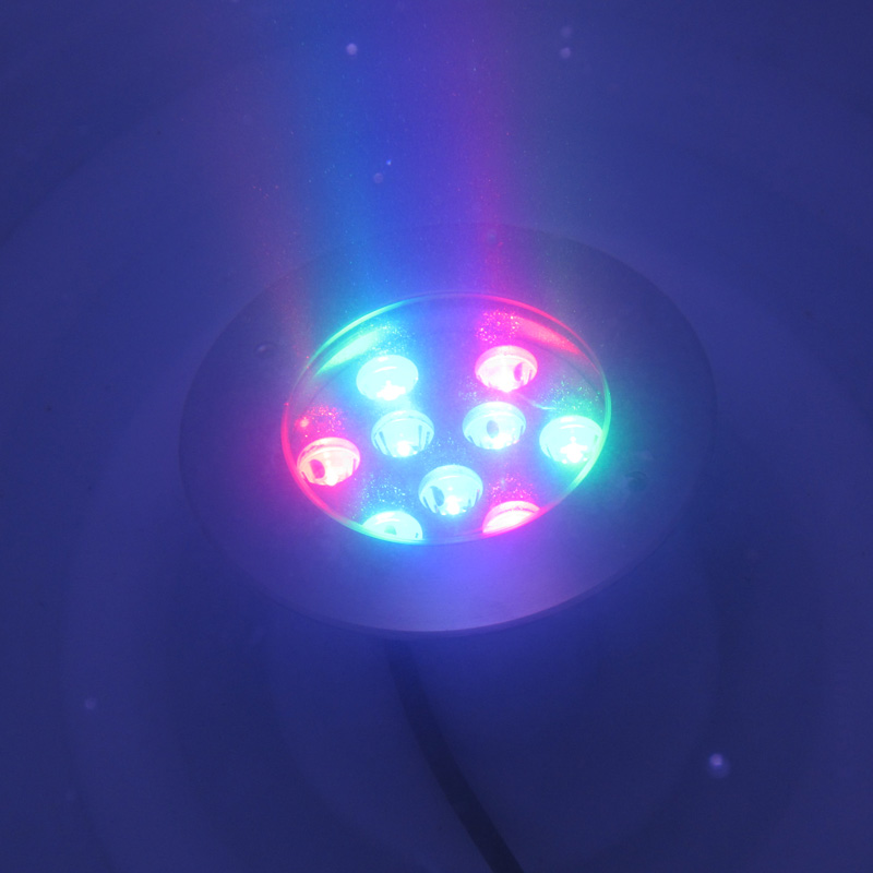 Lights & Lighting Realistic Stainless Steel 15 30 45 60 Beam Angle 9x1w 9x3w Single Color Rgb Ip68 Dc12v Led Underwater Lights Led Lamps