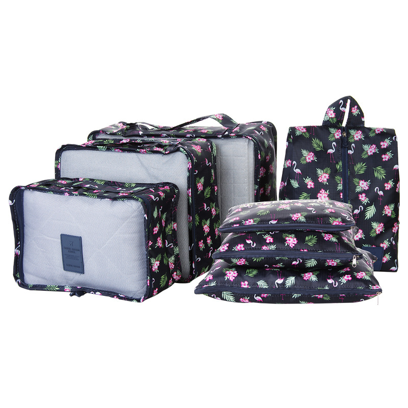 7 In 1 Reise Koffer Organizer Sets Lagerung Fall/tasche Dicker Wasserdicht One Set Gepäck Sortierung Taschen Für 26 Zoll Koffer SchöNer Auftritt