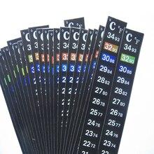 Термометр для аквариума с термометром, наклейка для аквариума, аксессуары для аквариума, цифровая двойная шкала, высокое качество, прочный