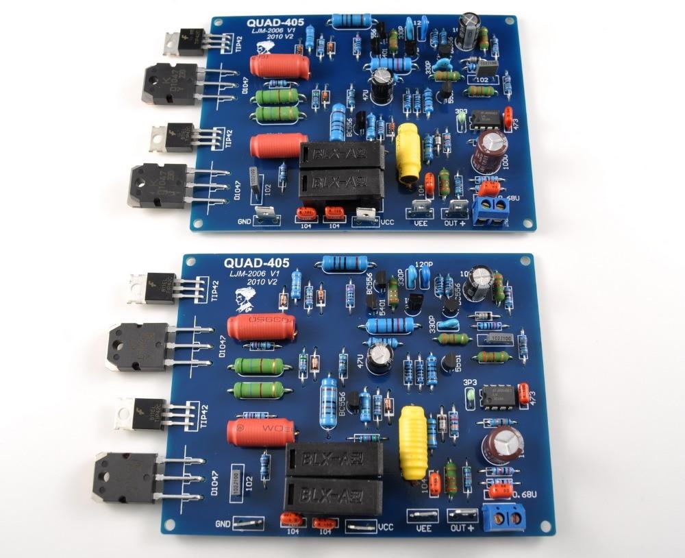 1Pair / 2 channels QUAD405 100W+100W KD1047 High power ...