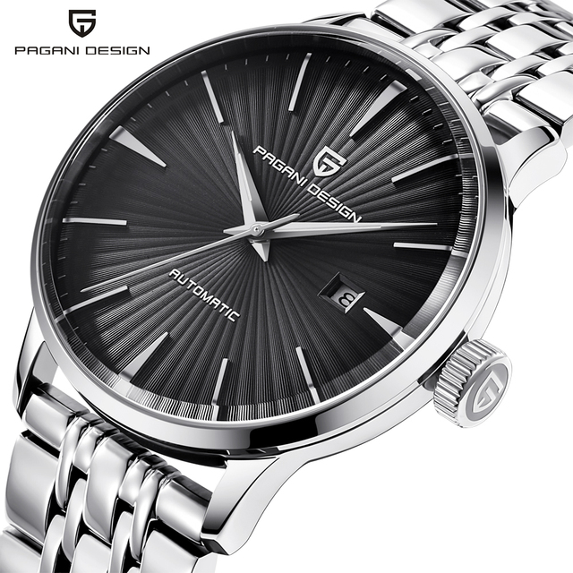 PAGANI DESIGN Luxury Brand Mens Watches Waterproof Stainless Steel Fashion Casual Automatic Mechanical Watch Relogio Masculino