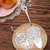 로얄 실버 일본 장미 조각 천사