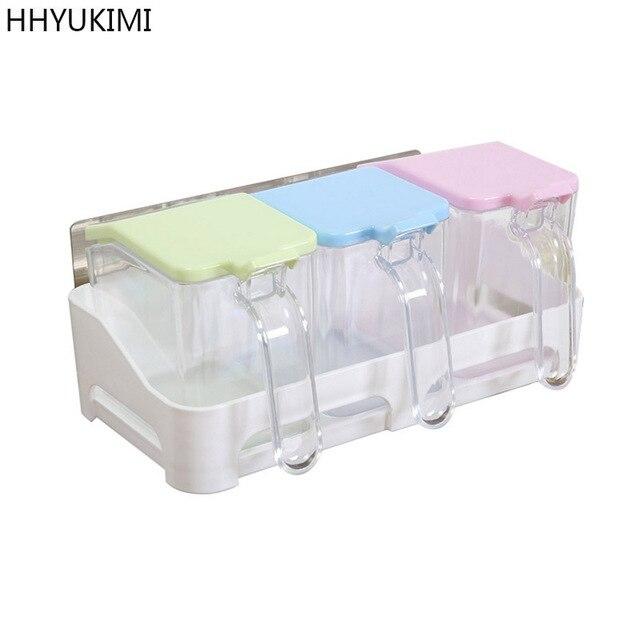 Hhyukimi Magie Flexible Aufkleber Kuchenregal Gewurz Dispenser