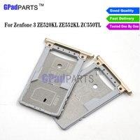 High quality Sim Tray For Asus Zenfone 3 ZE552KL ZE520KL ZC500TL SIM Card Tray Slot Holder Part