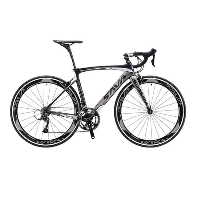 SAVA 700C Road Bike Carbon Fiber Frame / Fork / Seatpost Cycling ...