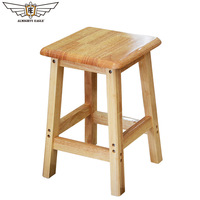 Portable stool Wooden Folding stool Small chair Outdoor Camping Hiking stool Living room stool 45cm Minimalist Modern