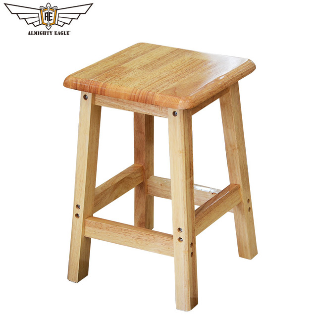 chair stool small foldable shower with arms portable wooden folding outdoor camping hiking living room 45cm minimalist modern