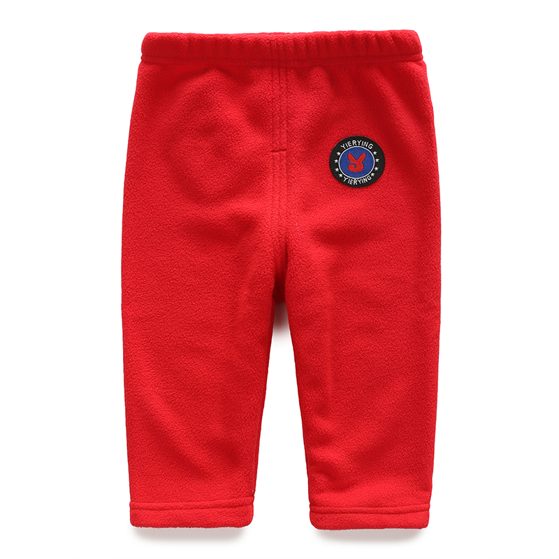YiErYing  Newborn Trousers Pure Colour Infant Cotton Pants Baby Boy Girl Leisure Keep Warm