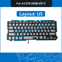 For Macbook Pro 13″ Unibody A1278 Keyboard Backlight Backlit Replacement US Layout 2008-2012