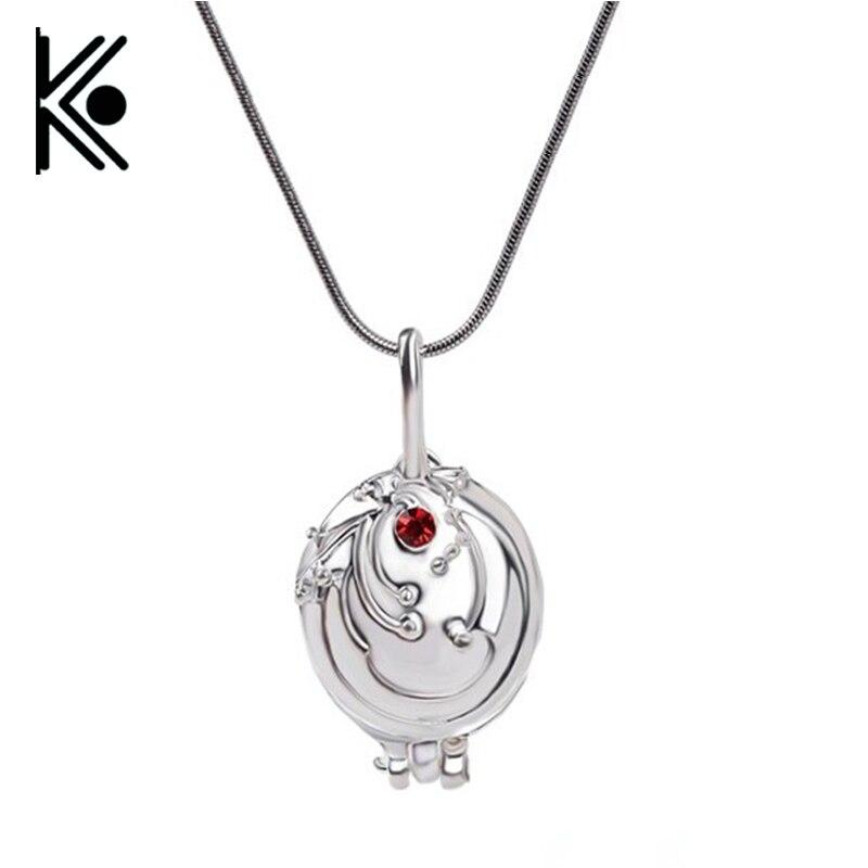 The Vampire Diaries Necklace Elena Gilbert Pendant Photo Locket Jewelry Verbenae Necklac ...