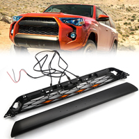 Fit For Toyota 4Runner TRD Pro 2014 2015 2016 2017 2018 2019 Black Car Front Bumper Grille Grill Replacement 2PCS