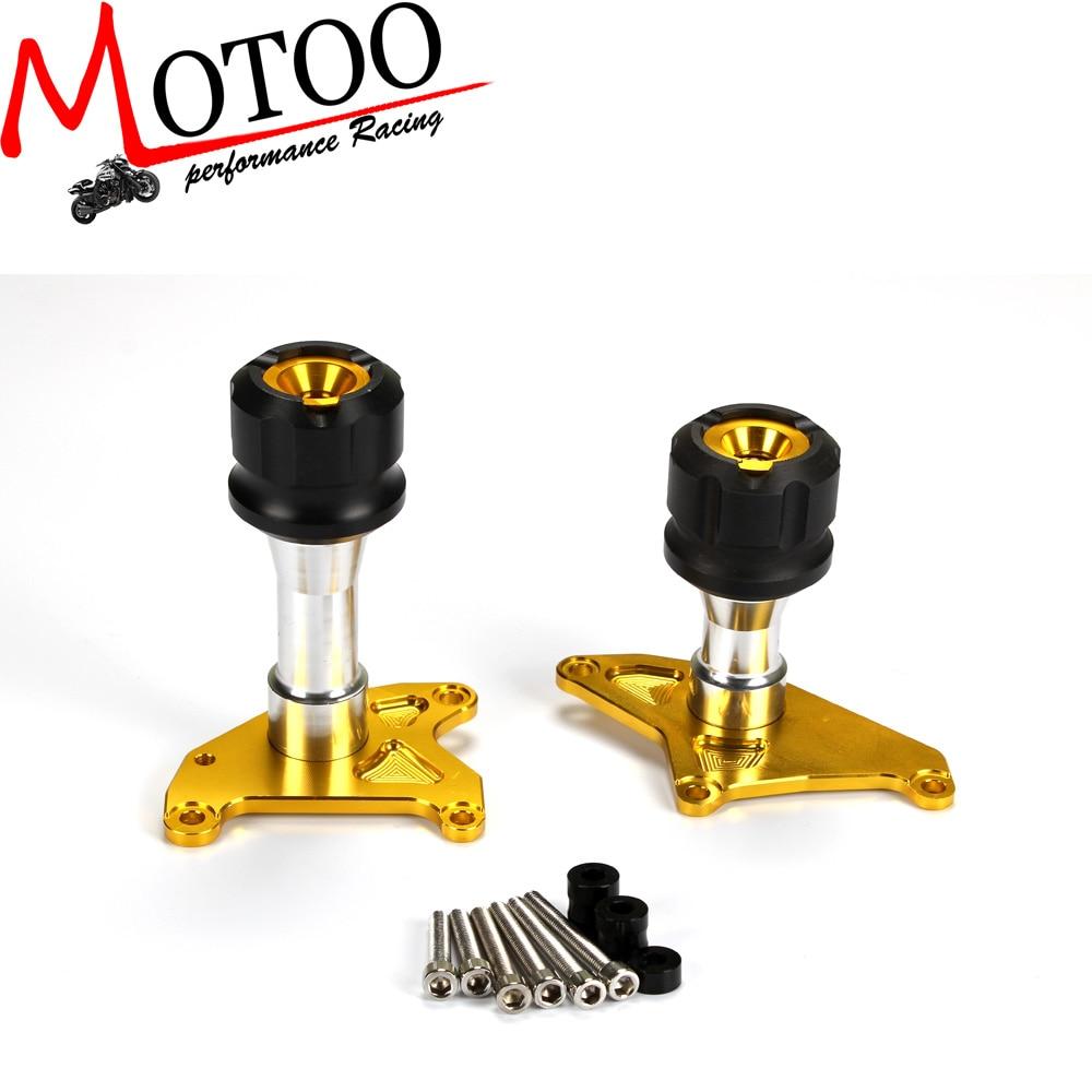 Motoo - CNC Engine Crash Protectors For Honda MSX125 Grom 2013-2015