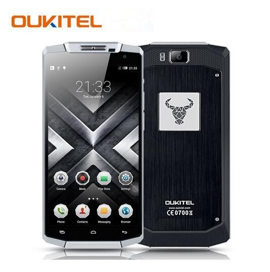 Oukitel k10000 4g lte fdd teléfono móvil 5.5 pulgadas 2 gb 16 GB 10000 mAh Smart