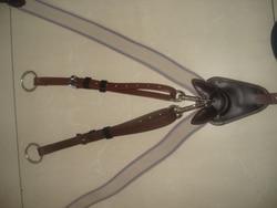 Aoud sellerie PVC sangle de poitrine licou ceinture triangulaire équitation équipement de course hippique licou de haute qualité