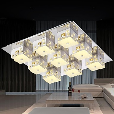 Surface Mounted Modern LED Ceiling Light With 9 Lights For Living Room Lamp Fixtures Lustres De