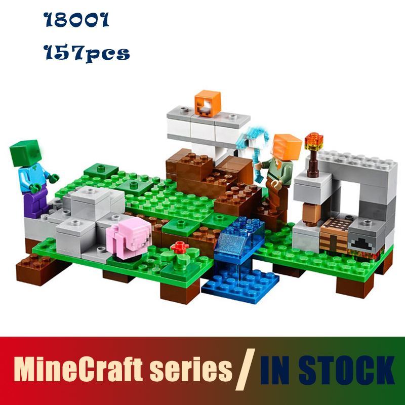 Compatible with lego city Model building kits my worlds MineCraft blocks Educational toys hobbies for children 21123 model building kits compatible with lego the sky dragon my worlds minecraft 548 pcs model building toys hobbies for children