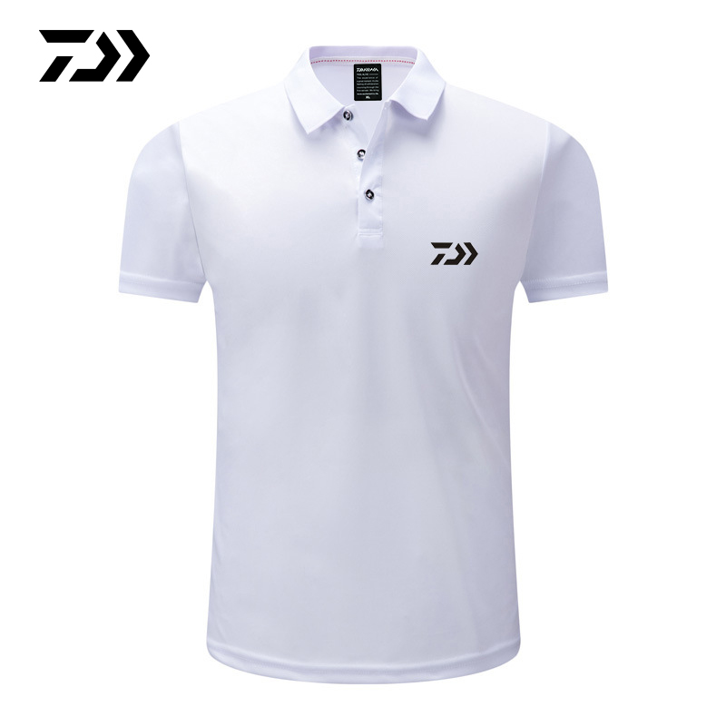 2019 Daiwa Summer Tshirt Men Quick Dry Fishing T-shirt Sport Wear Ice Silk Breathable Outdoor Running Golf Fishing Polo Tee2019 Daiwa Summer Tshirt Men Quick Dry Fishing T-shirt Sport Wear Ice Silk Breathable Outdoor Running Golf Fishing Polo Tee
