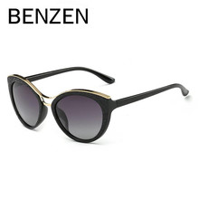 BENZEN Cat Eye Sunglasses Women Vintage Polarized Female Sun Glasses Ladies Shades Driving glasses With Original Case 6333