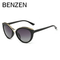 BENZEN Cat Eye Sunglasses Women Vintage Polarized Female Sun Glasses Ladies Shades Driving Glasses With Original