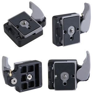 Image 1 - Neue Kamera 323 Schnellspannklemme Adapter + Schnellwechselplatte Kompatibel für Manfrotto 200PL 14 Compat Platte