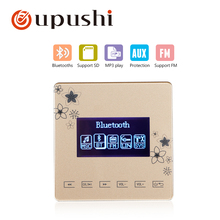 in wall amplifier bluetooth oupushi smart home touch panel, Bluetooth digital stereo amplifier for family music system