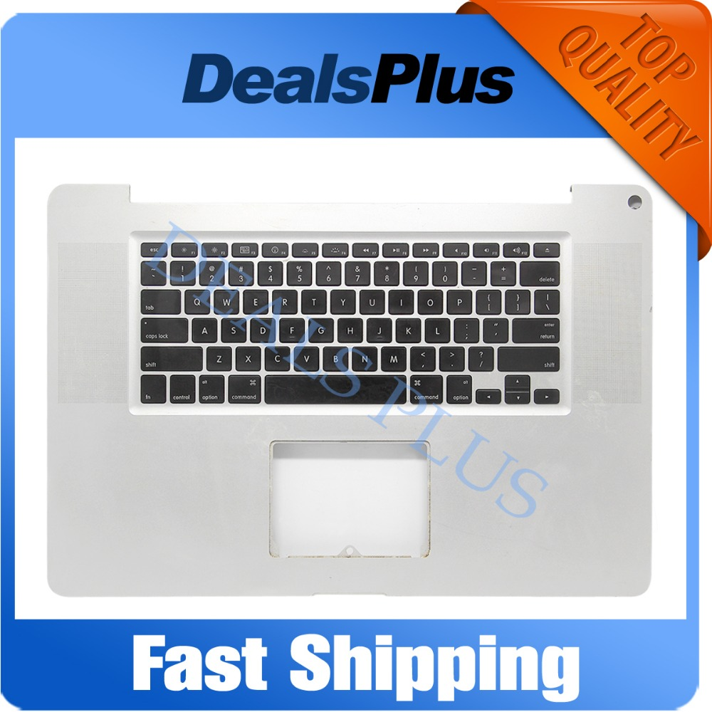 US Keyboard Top Case Topcase PalmRest FITS MacBook Pro 17