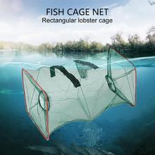 Cage-Catcher-Trap Fishnet Crab Shrimp Mesh Tackle Float Sport for Outdoor