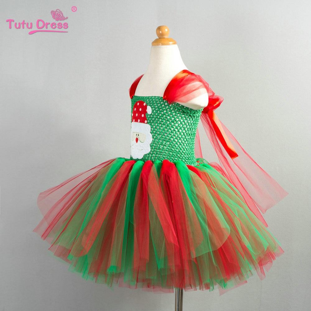 f401b8226 aliexpresscom buy christmas tutu dress red green tutu dress baby girl  christmas outfit santa claus patch