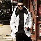 Hiver Nouveaux Hommes de Vestes Épaississement D'hiver Vestes Hommes Coton Manteau Hommes Chaud Parkas Mâle épais manteau à capuchon outwear F2126
