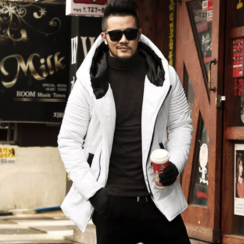 Winter New Men's Jackets Thickening Winter Jackets Mens Cotton Coat Men Warm   Parkas   Male thick hooded coat outwear F2126