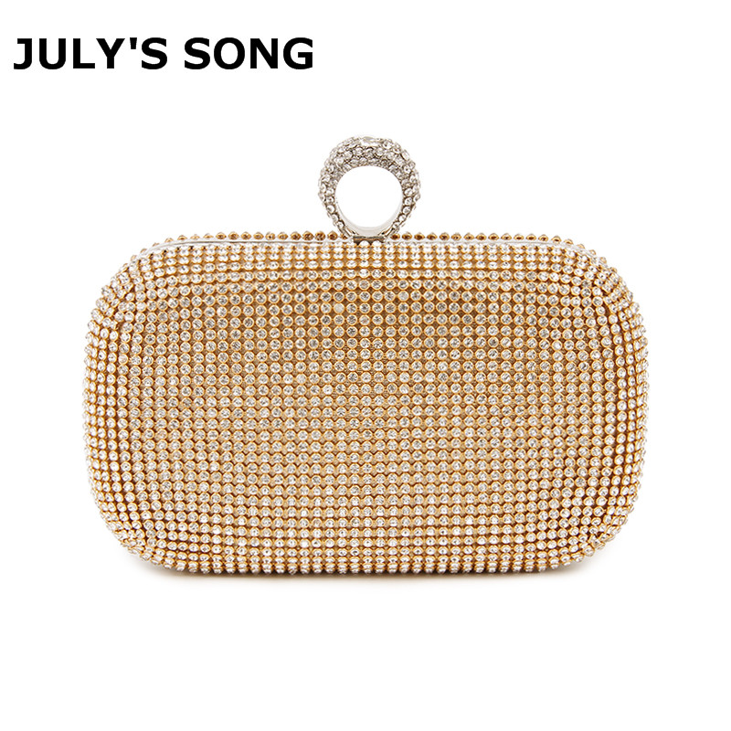 Evening Clutch Bags Diamond-Studded Evening Bag With Chain Shoulder Bag Womens Handbags Wallets Evening Bag For Wedding Party