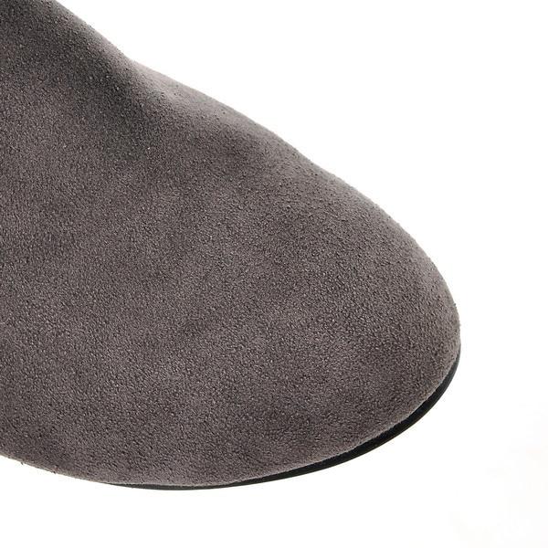 SchwarzBraunGrauRotGelb Stil Masculina Stiefel Mujer Schuh Zapatos Oberschenkel Hohe Femininas Botas Botines 822 Frauen Frau 2017 Schuhe strdxoCQhB