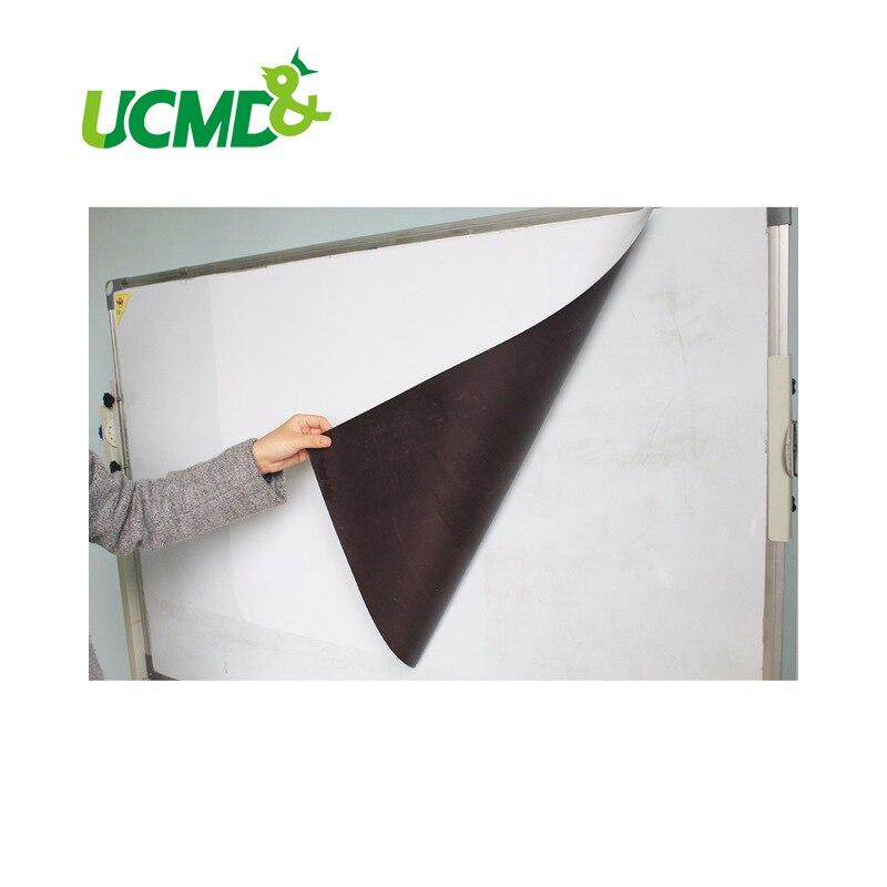 все цены на  Flexible Magnetic Whiteboard Labels Dry Erase Writing Board sticker for Ferrous Metal Surface 100 X 60 CM X 0.3 mm thick  онлайн