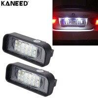 Luz de Licença Para Mercedes Benz W220 KANEED DC 12 V 18 SMD-3528 Número do carro LEVOU Lâmpada Para O Benz W220 99-05 Placa Do Carro luz